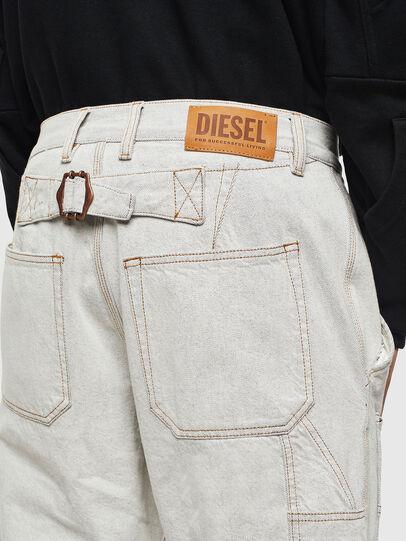Diesel - D-FRAK, White - Pants - Image 3
