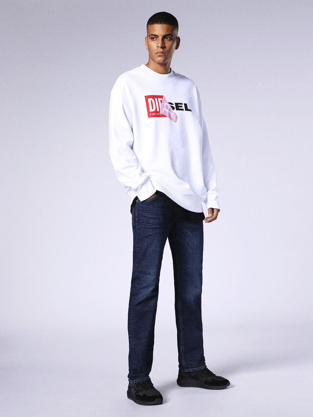 Diesel - Waykee 084NL, Dark Blue - Jeans - Image 5