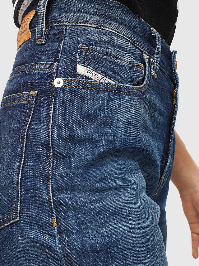 Diesel - Widee 0090W, Dark Blue - Jeans - Image 3