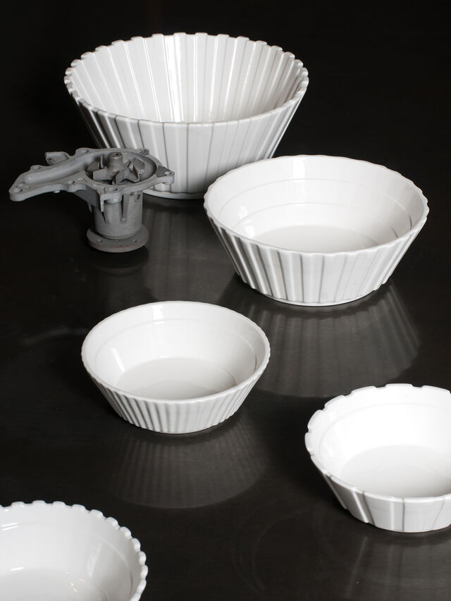 Living 10984 MACHINE COLLEC, White - Bowl - Image 4