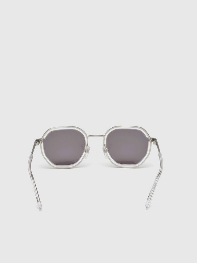 Diesel - DL0267, Grey - Sunglasses - Image 4
