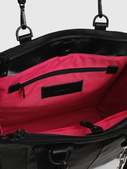 Diesel - HAUNYA, Black - Shopping and Shoulder Bags - Image 4