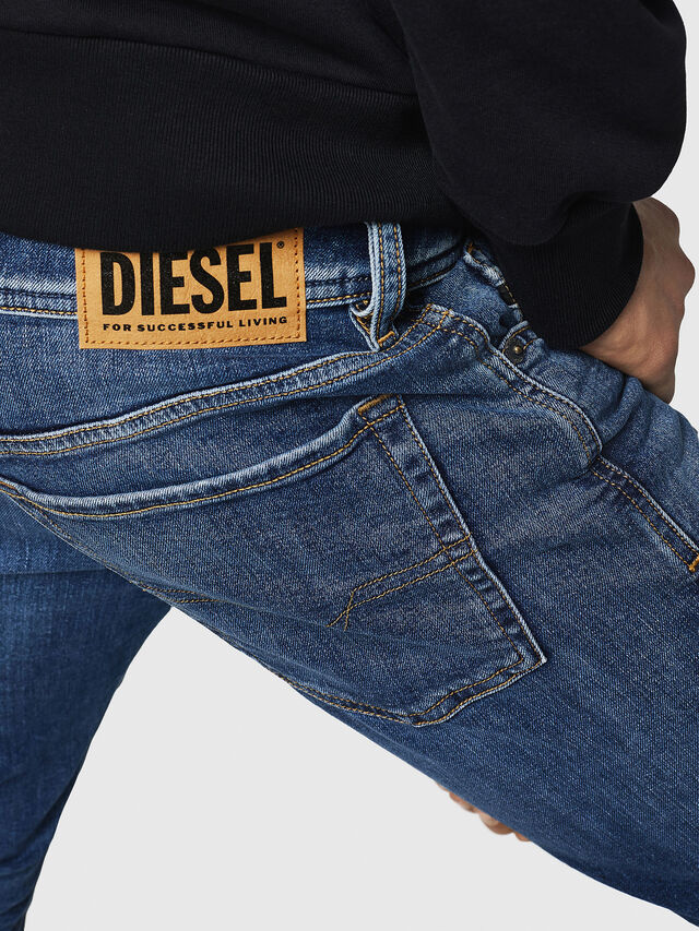 Diesel - Sleenker 069FZ, Medium blue - Jeans - Image 5