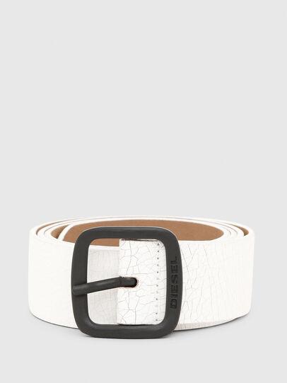 Diesel - B-CRASEL, White - Belts - Image 1