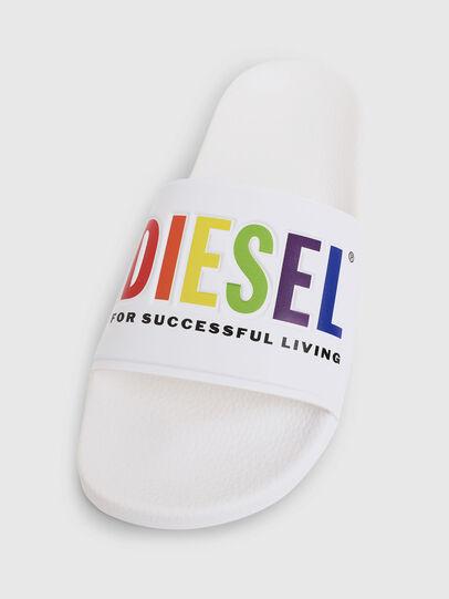 Diesel - SA-VALLA W, White - Slippers - Image 5