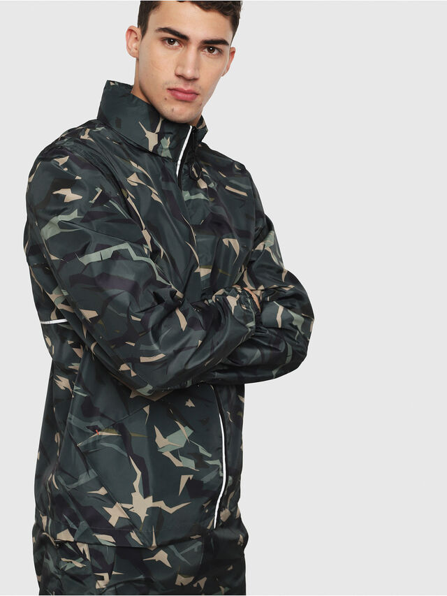 Diesel - BMOWT-WINDSEA-P, Green Camouflage - Out of water - Image 1