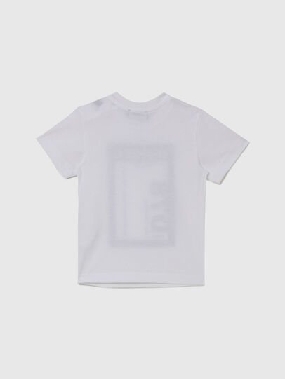 Diesel - TFULL78B, White - T-shirts and Tops - Image 2
