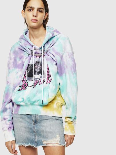 Diesel - F-ALBYHOOK-B, Multicolor - Sweaters - Image 1