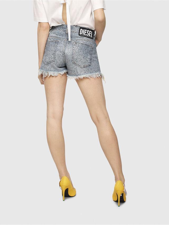 Diesel - DE-RIFTY-S, Blue Jeans - Shorts - Image 2