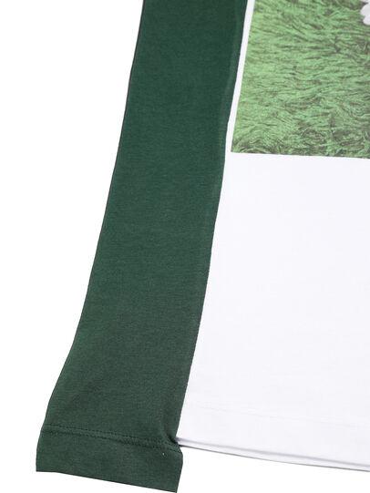 Diesel - D-FRANKENSTEIN 2.1, White/Green - T-Shirts - Image 6