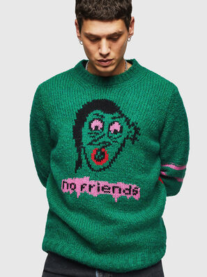 K-BOBBY, Dark Green - Knitwear