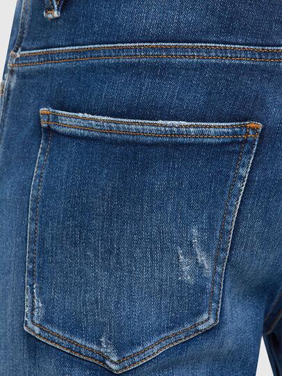 Diesel - D-Istort 009CX, Medium blue - Jeans - Image 4