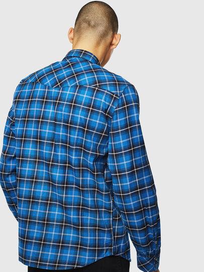 Diesel - S-EAST-LONG-N, Blue - Shirts - Image 2