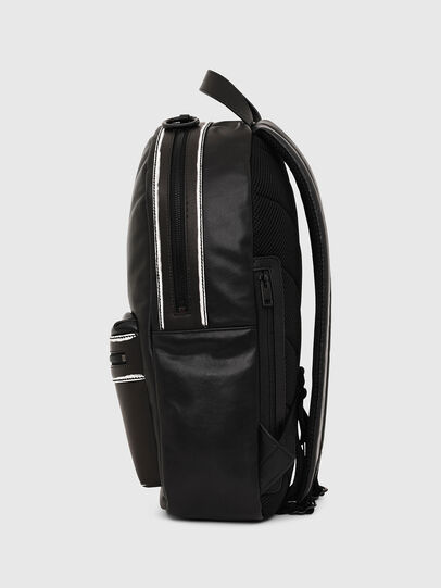 Diesel - ESTE, Black/White - Backpacks - Image 3