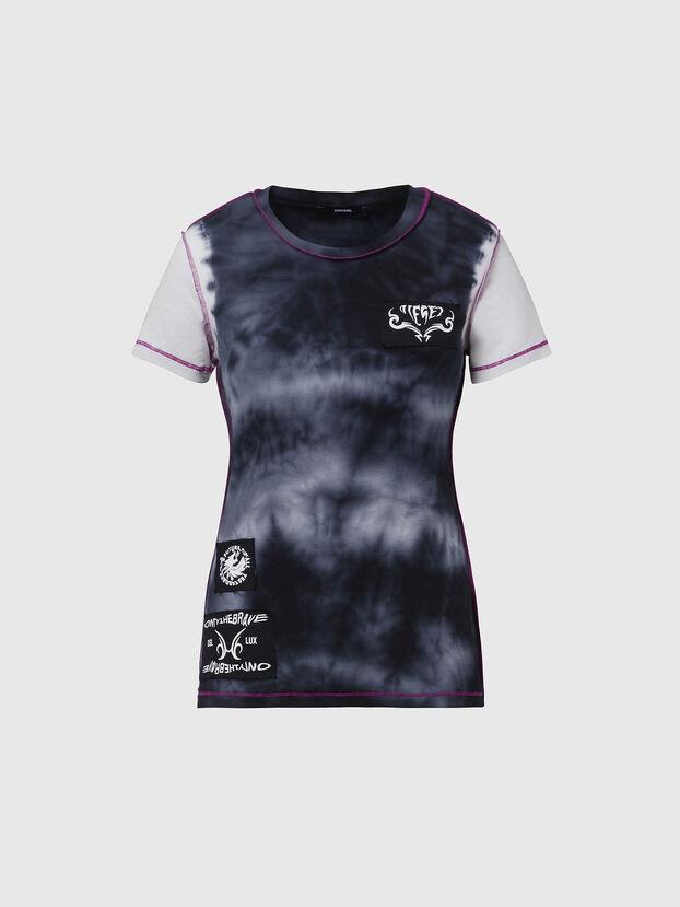 T-SUPERY-V10, Blue/White - T-Shirts