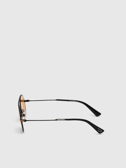 Diesel - DL0301, Orange/Black - Sunglasses - Image 4