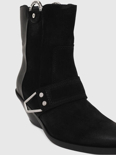 Diesel - D-GIUDECCA MAR, Black - Ankle Boots - Image 4