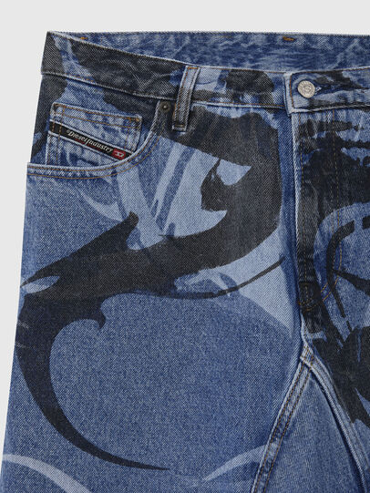 Diesel - DE-SPIZ, Light Blue - Skirts - Image 3