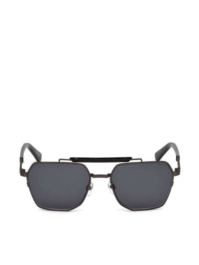 Diesel - DL0256, Black - Sunglasses - Image 1