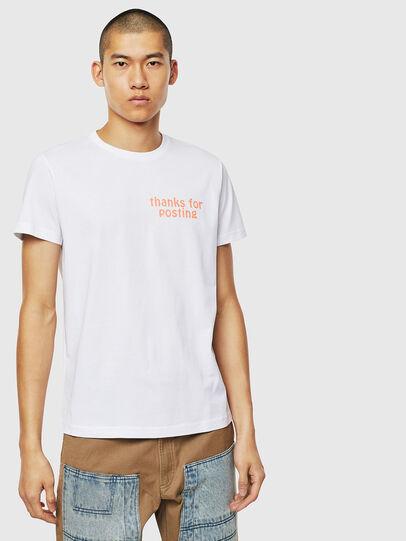 Diesel - T-DIEGO-J20, White - T-Shirts - Image 1