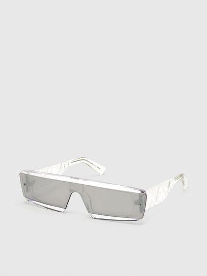 Diesel - DL0318, White - Sunglasses - Image 2