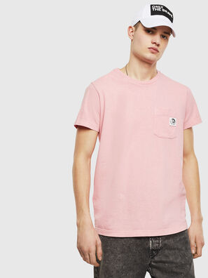 T-WORKY-MOHI-S1, Pink - T-Shirts