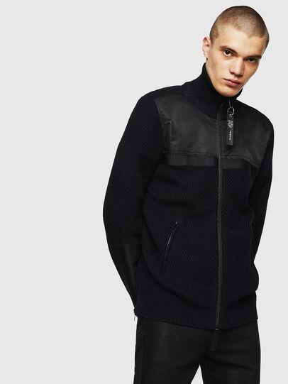 Diesel - K-MANY, Black - Knitwear - Image 1