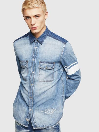 Diesel - D-MILLER, Blue Jeans - Denim Shirts - Image 1