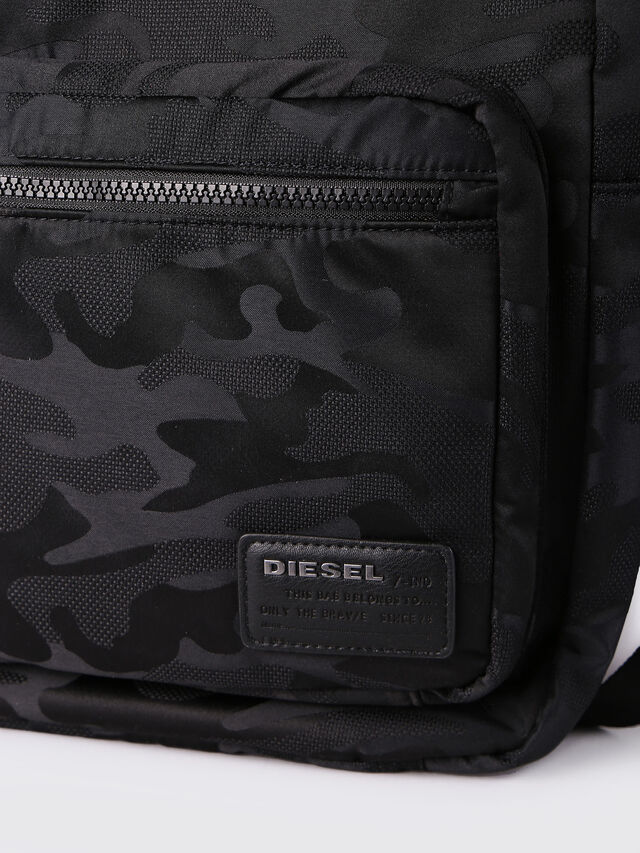 Diesel - F-DISCOVER BACK, Black - Backpacks - Image 4