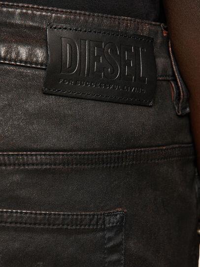 Diesel - FAYZA JoggJeans® 069PG, Black/Orange - Jeans - Image 4