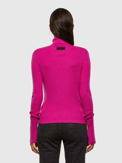 Diesel - M-KIMBERLY, Hot pink - Knitwear - Image 2