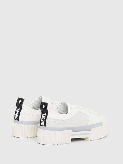 Diesel - S-MERLEY LOW, White - Sneakers - Image 3