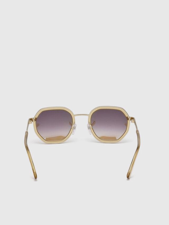 Diesel - DL0267, Gold - Sunglasses - Image 4