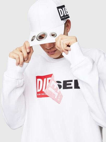 Diesel - S-SAMY, White - Sweaters - Image 3