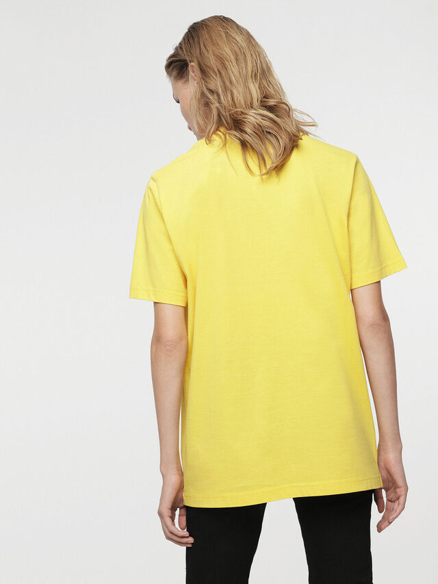 Diesel - HC-T-JUST-DIVISION-B, Yellow - T-Shirts - Image 6