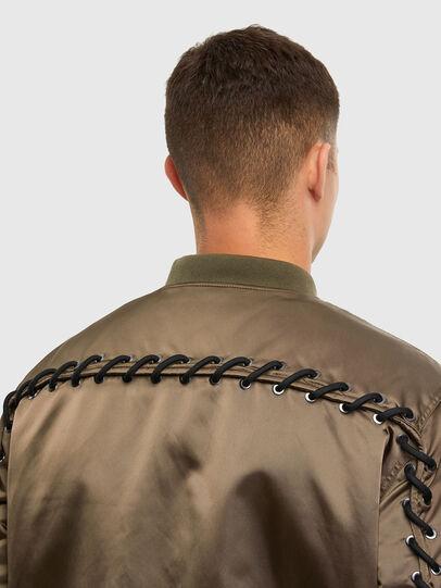 Diesel - J-JAVIER, Military Green - Jackets - Image 4