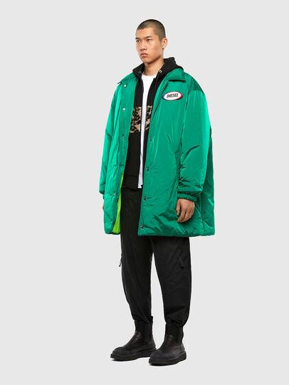 Diesel - W-KODYN, Green - Winter Jackets - Image 7