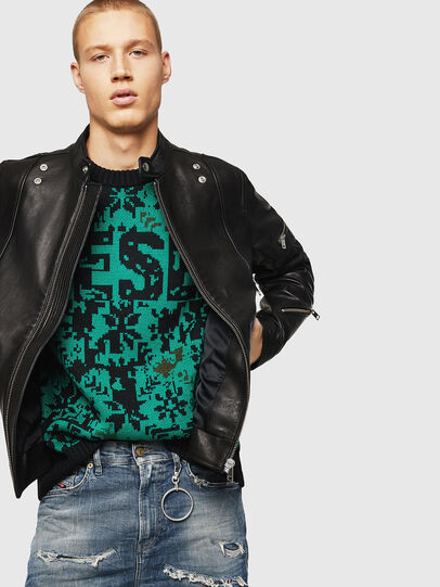 Diesel - L-TOVMAS,  - Leather jackets - Image 4
