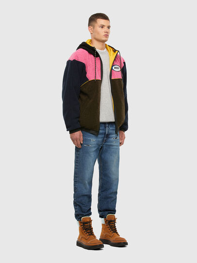 Diesel - W-ETHAN, Blue/Pink - Winter Jackets - Image 5