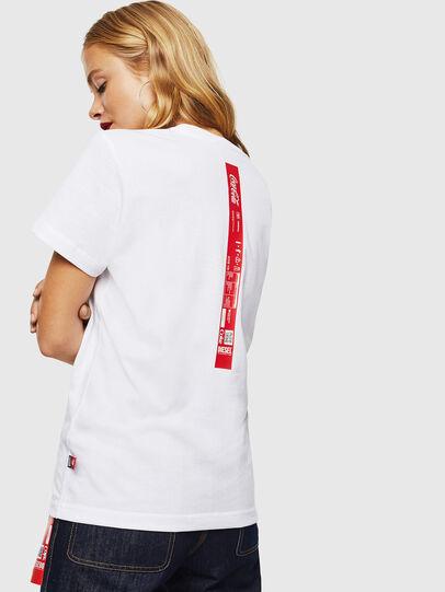 Diesel - CC-T-DIEGO-COLA, White - T-Shirts - Image 4