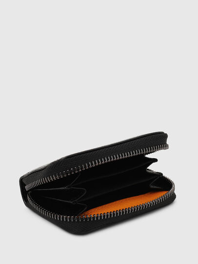 Diesel - JAPAROUND, Black/Orange - Zip-Round Wallets - Image 3