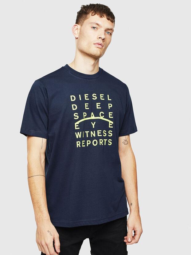 T-JUST-J5, Dark Blue - T-Shirts