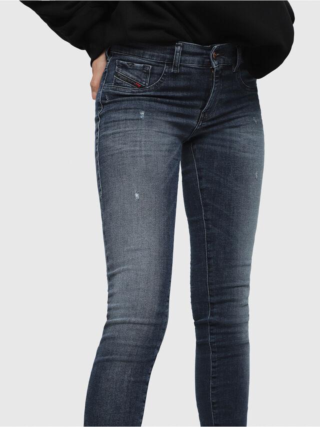 Diesel - Livier 0687L, Dark Blue - Jeans - Image 3