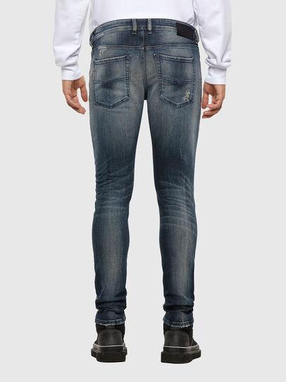 Diesel - Sleenker 069NI, Dark Blue - Jeans - Image 2