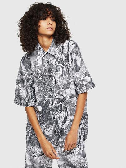 Diesel - C-FRY, Black/White - Shirts - Image 1