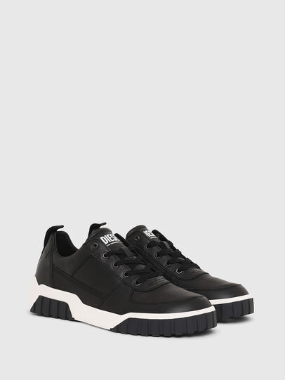 Diesel - S-RUA LOW, Black - Sneakers - Image 2