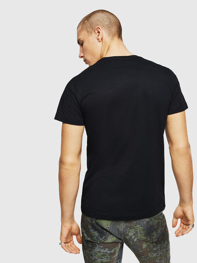 Diesel - T-DIEGO-A1, Black - T-Shirts - Image 2