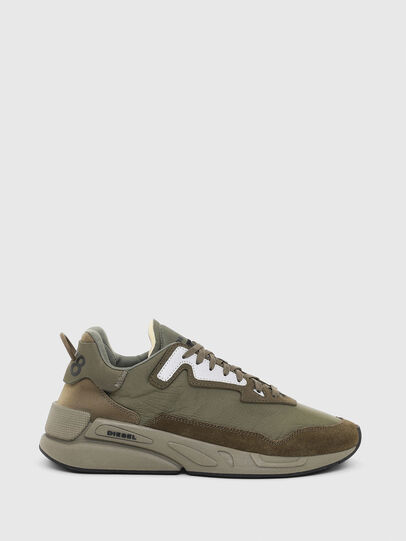 Diesel - S-SERENDIPITY LC, Olive Green - Sneakers - Image 1