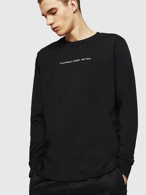T-JUST-LS-COPY, Black - T-Shirts