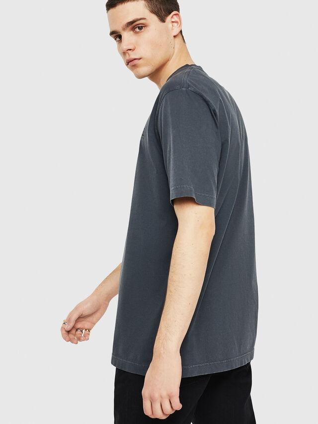 Diesel - DXF-T-JUST, Black/Dark grey - T-Shirts - Image 2